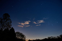 Southeast night sky from my backyard. Image taken with a Nikon D2xs camera and 17-35 mm f/2.8 lens (ISO 100, 17 mm, f/2.8, 28 sec).