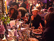 GAVIN TURK, Amanda Eliasch birthday dinner. North Audley st. London. 12 May 2010. -DO NOT ARCHIVE-© Copyright Photograph by Dafydd Jones. 248 Clapham Rd. London SW9 0PZ. Tel 0207 820 0771. www.dafjones.com.