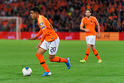 10-10-2019 NED: Netherlands - Northern Ireland, Rotterdam<br /> UEFA Qualifying round Group C match between Netherlands and Northern Ireland at De Kuip in Rotterdam / Donyell Malen #20 of the Netherlands