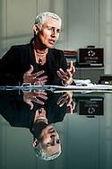 Nederland, Den Haag, 6 maart 2014<br /> Bouwen van hekken rondom het haags congresgebouw waar de NSS conferentie wordt gehouden.  De Nuclear Security Summit 2014 (NSS) is een internationale top, met als doel nucleair terrorisme wereldwijd te voorkomen.<br /> Foto(c): Michiel Wijnbergh
