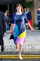 © Licensed to London News Pictures. 06/10/2015. Manchester, UK. Education Secretary Nicky Morgan attending Conservative Party Conference at Manchester Central on Tuesday, 6 October 2015. Photo credit: Tolga Akmen/LNP