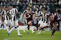 Andrea Belotti Torino, Leonardo Bonucci Juventus <br /> Torino 06-05-2017, Juventus Stadium, Football Calcio 2016/2017 Serie A, Juventus - Torino, Foto Filippo Alfero/Insidefoto