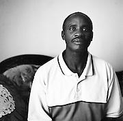 NAIROBI, KENYA - JANUARY 8, 2008: Portrait of a Kenyan accountant.