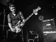 Rhydian Dafydd of Welsh indie-rock band The Joy Formidable at Nachtleben in Frankfurt