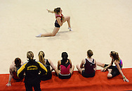 Day 1 - Warm ups - 2015 NZ National GymSports Championships, Trusts Arena, Auckland,  New Zealand, 29 September 2015. Photo by / alphapix
