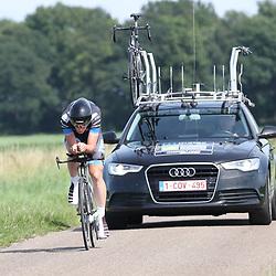 EMMEN (NED wielrennen <br /> Tijdrit Topcompetitie Emmen       Stef Krul