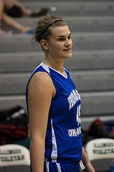 20 June 2009: Kristen Judson.  Illinois Basketball Coaches Association 1A-2A Girls All Star game.