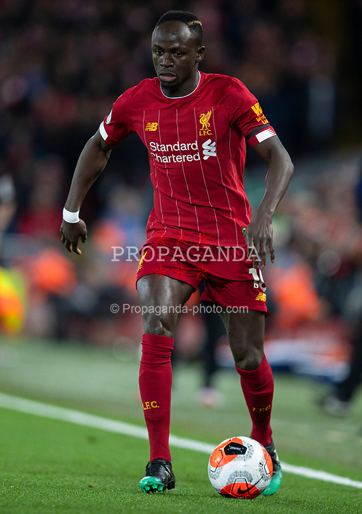 LIVERPOOL, ENGLAND - Monday, February 24, 2020: Liverpool's Sadio Mané during the FA Premier League match between Liverpool FC and West Ham United FC at Anfield. (Pic by David Rawcliffe/Propaganda)