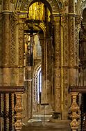 Inside the Templar Castle in Tomar, Portugal