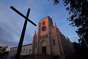 Cuiaba_MT, Brasil...Igreja do Bom Despacho localizada no  centro historico de Cuiaba, Mato Grosso...Bom Despacho church located in the historical center in Cuiaba, Mato Grosso...Foto: LEO DRUMMOND / NITRO