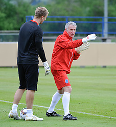 19.05.2010, Arena, Irdning, AUT, FIFA Worldcup Vorbereitung, Training England, im Bild Franco Tancredi, Joe Hart (Birmingham City), EXPA Pictures © 2010, PhotoCredit: EXPA/ S. Zangrando / SPORTIDA PHOTO AGENCY
