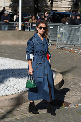Miroslava Duma attending the Miu Miu's Spring-Summer 2016/2017 Ready-To-Wear collection show in Paris, France, on October 5, 2016. Photo by Nicolas Genin/ABACAPRESS.COM
