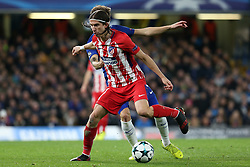 5 December 2017 - Champions League Football - Chelsea v Atletico Madrid - Filipe Luis of Atletico Madrid - Photo: Charlotte Wilson / Offside