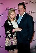 """Paris Hilton's mother and father..Launch of """"Paris Hilton"""" fragrance..5900 Wilshire Blvd..LA, CA US.12/3/04."""