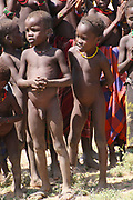 Africa, Ethiopia, Omo Valley, Daasanach tribe child
