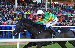 Le Richebourg ridden by Mark Walsh win the Frank Ward Solicitors Arkle Novice Chase during day one of the Dublin Racing Festival at Leopardstown Racecourse.
