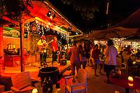 Musicians performing at the Schooner Wharf Bar, Key West, Florida Keys, Florida USA
