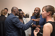 ECKOW EKSHUN; LYNETTE YIADOM-BOAKYE;; DURO OROWY; JENNY BERGLUND Preview of DANDYISM Photographers Gallery, Ramillies Place, Thursday 14 July 2016,