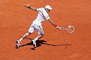 Roland Garros 2011. Paris, France. May 23rd 2011..Serbian player Novak DJOKOVIC against Thiemo DE BAKKER
