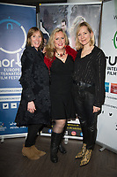 Nicole Faraday, Anna Winslet at  the Ask the Cheat film screening. Crowne Plaza London Docklands.