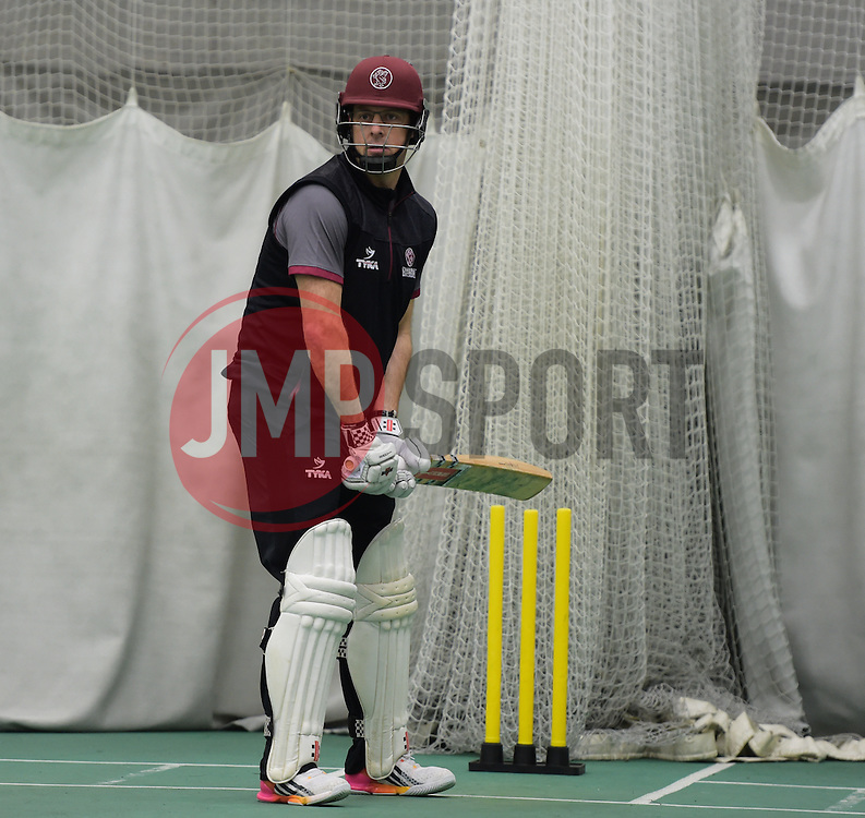 Somerset's Marcus Trescothick. - Mandatory byline: Alex Davidson/JMP - 25/02/2016 - CRICKET - The Cooper Associates County Ground -Taunton,England - Somerset CCC  Media access - Pre-Season