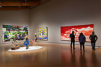 BENTONVILLE, AR - FEBRUARY 15:  1940 to Now Gallery of Contemporary Art at Crystal Bridges Museum of American Art in Bentonville, Arkansas.<br /> CREDIT Wesley Hitt for The Wall Street Journal<br /> WALMART-Bentonville Scene-setters