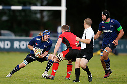 Magnus Lund of Sale Sharks in action - Mandatory by-line: Matt McNulty/JMP - 19 August 2016 - RUGBY - Heywood Road Stadium - Manchester, England - Sale Sharks v Edinburgh Rugby - Pre-Season Friendly