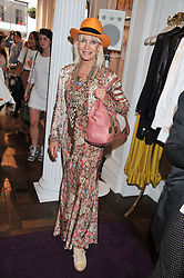 VIRGINIA BATES at the Frocks and Rocks party hosted by Alice Temperley and Jade Jagger at Temperley, Bruton Street, London on 25th April 2013.