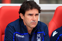 Nottingham Forest's manager Aitor Karanka