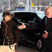 NLD/Amsterdam/20130410 - Viering 125 jaar bestaan Concertgebouw Amsterdam, Freek de Jonge en partner Hella Asser