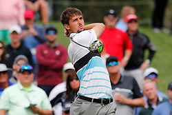 March 16, 2019 - Ponte Vedra Beach, FL, U.S. - PONTE VEDRA BEACH, FL - MARCH 16: Ollie Schniederjans of the United States plays a shot on the 16th hole during the third round of THE PLAYERS Championship on March 16, 2019 on the Stadium Course at TPC Sawgrass in Ponte Vedra Beach, Fl. (Photo by David Rosenblum/Icon Sportswire) (Credit Image: © David Rosenblum/Icon SMI via ZUMA Press)