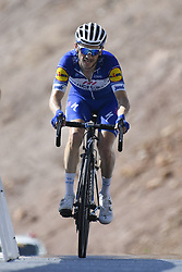 February 17, 2018 - Muscat, Oman - DEVENYNS Dries  (BEL)  of Quick - Step Floors during stage 5 of the 9th edition of the 2018 Tour of Oman cycling race, a stage of 152 kms between Sama'il and Jabal Al Akhdhar (Green Mountain) on February 17, 2018 in Muscat, Sultanate Of Oman, 17/02/2018 (Credit Image: © Panoramic via ZUMA Press)