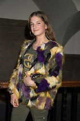 LADY KATIE HERBERT at the Veuve Clicquot Widow Series launch party hosted by Nick Knight and Jo Thornton MD Moet Hennessy UK held at The College, Central St.Martins, 12-42 Southampton Row, London on 29th October 2015.