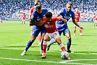 Football - 2021 / 2022 EFL Sky Bet Championship - Cardiff City vs Bristol City - Cardiff City Stadium - Saturday 28th August 2021<br /> <br />  \c3\ HOLDS THE BALL IN THE CORNER AS bRISTOL HEAD FOR VICTORY<br /> <br /> COLORSPORT/WINSTON BYNORTH