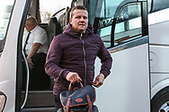 Forest Green Rovers manager, Mark Cooper arrives at the ground during the The FA Cup 1st round match between Oxford United and Forest Green Rovers at the Kassam Stadium, Oxford, England on 10 November 2018.