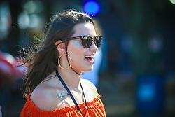 Movimento de Publico durante a 25ª edição do Planeta Atlântida. O maior festival de música do Sul do Brasil ocorre nos dias 31 Janeiro e 01 de fevereiro, na SABA, praia de Atlântida, no Litoral Norte do Rio Grande do Sul. FOTO: <br /> Gustavo Granata/ Agência Preview