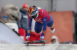 Romania's Maria Marinela Mazilu during the Women's Skeleton practice on day three of the PyeongChang 2018 Winter Olympic Games in South Korea. PRESS ASSOCIATION Photo. Picture date: Monday February 12, 2018. See PA story OLYMPICS Skeleton. Photo credit should read: David Davies/PA Wire. RESTRICTIONS: Editorial use only. No commercial use.