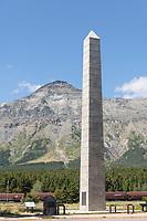 Roosevelt Memorial Obelisk Marias Pass Montana