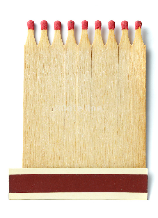 matchbook with one match missing