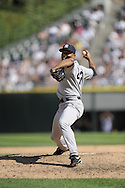 CHICAGO - AUGUST 02:  Mariano Rivera #42 of the New York Yankees pitches against the Chicago White Sox on August 2, 2009 at U.S. Cellular Field in Chicago, Illinois.    The Yankees defeated the White Sox 8-5.  (Photo by Ron Vesely)