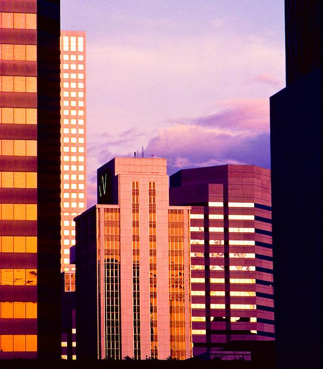 skyscrapers, San Francisco, California