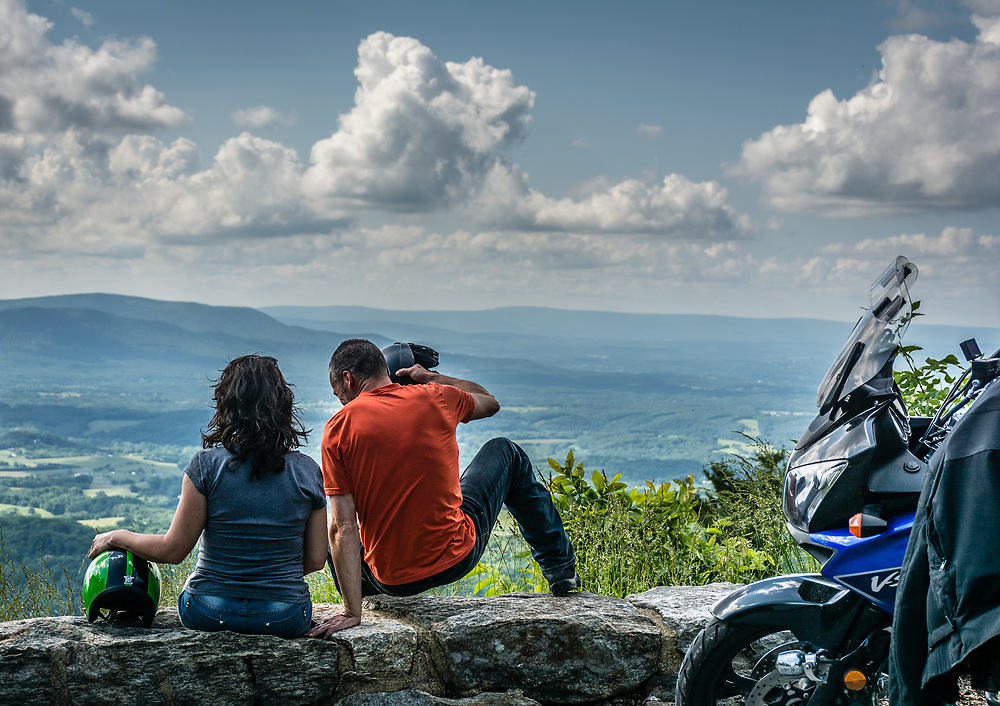 A nice view from the Skyline drive in Virginia