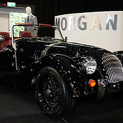 London,England, UK : 5th May 2016 : Morgan design showcases at London Motor Show at Battersea Evolution over four days, with an exclusive preview in London. Photo by See Li