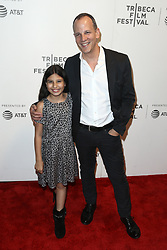 Gemma Essex (L) and Andrew Essex attend 'The Circle' screening during the 2017 TriBeCa Film Festival at at BMCC Tribeca PAC on April 26, 2017 in New York City. (Photo by Debby Wong/imageSPACE) *** Please Use Credit from Credit Field ***