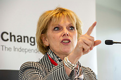 """Pictured: Anna Soubry<br /> <br /> Change UK has lost six of its 11 MPs following a disappointing performance in last month's EU elections, when it failed to get a single MEP elected.<br /> <br /> The party announced that a new party leader, Anna Soubry, had been elected.<br /> <br /> She said she was """"deeply disappointed"""" that Heidi Allen, Chuka Umunna, Sarah Wollaston, Angela Smith, Luciana Berger and Gavin Shuker had left.<br /> <br /> Ger Harley 
