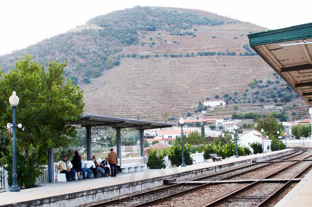 train station pinhao douro portugal