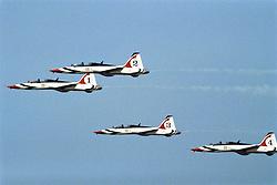 US Air Force Thunderbirds Air Show At Hanscom Field