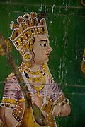 Artwork at the Bhand Sagar Temple - Bikaner India 2011