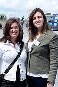 Lara Moran and Vanessa Campos of Teagasc attending 'SHEEP2015', the major National Sheep Open Day hosted by Teagasc at Athenry on Saturday. Photo:- Andrew Downes / xposure.ie  No Fee. Issued on behalf of Teagas