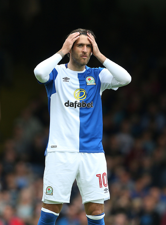 Blackburn Rovers' Danny Graham<br /> <br /> Photographer Rob Newell/CameraSport<br /> <br /> The EFL Sky Bet League One - Southend United v Blackburn Rovers - Saturday 5th August 2017 - Roots Hall - Southend<br /> <br /> World Copyright © 2017 CameraSport. All rights reserved. 43 Linden Ave. Countesthorpe. Leicester. England. LE8 5PG - Tel: +44 (0) 116 277 4147 - admin@camerasport.com - www.camerasport.com